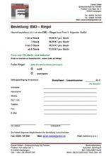EM3-Bestellung