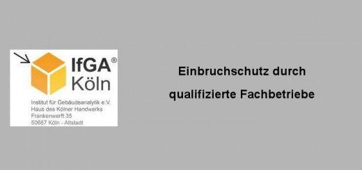 Einbruchschutz-Errichterunternehmen