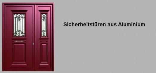 Einbruchschutz-Sicherheitstüren
