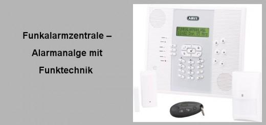 Einbruchschutz-Funkalarmzentrale
