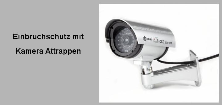 Kamera attrappen dienen beim einbruchschutz zur abschreckung for Fenster einbruchschutz