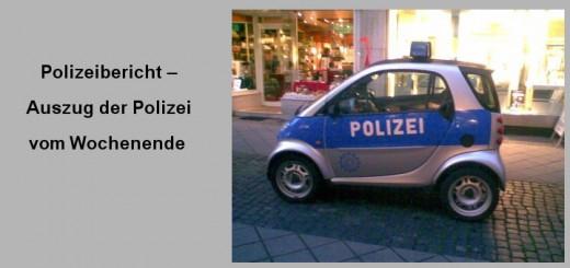 Einbruchschutz-Polizeibericht