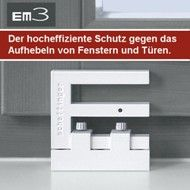 pilzkopfverriegelung nachr sten f r die terrassent r. Black Bedroom Furniture Sets. Home Design Ideas