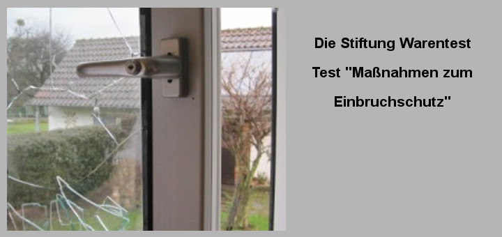 test einbruchschutz f r fenster terrassent ren die stiftung warentest. Black Bedroom Furniture Sets. Home Design Ideas