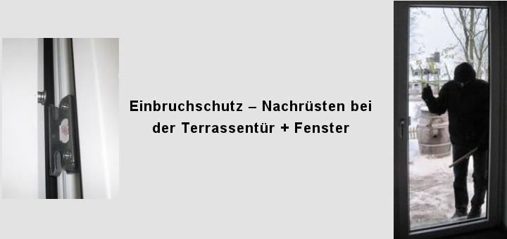 Einbruchschutz-Terrassentür