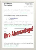 Angebot Alarmanlage