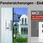 Fenstersicherungen - Einbruchschutz