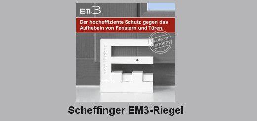 Scheffinger EM3 Riegel