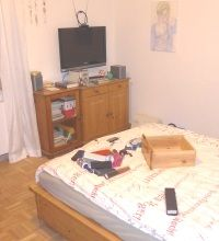 Einbrecher-Schlafzimmer