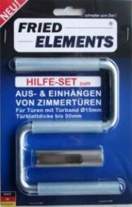 Bevorzugt Türheber-Set von Fried Elements zum Einhängen von Zimmertüren OJ26