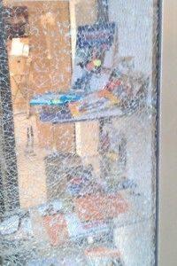 Schaufenster mit Sicherheitsglas